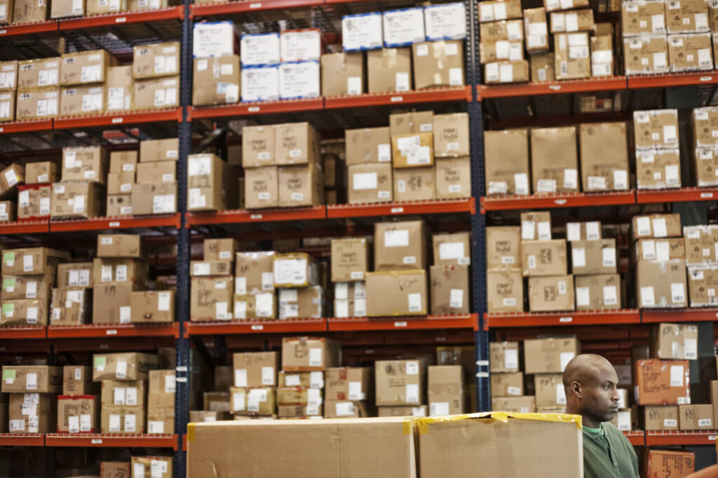 Organize the products in your warehouse well